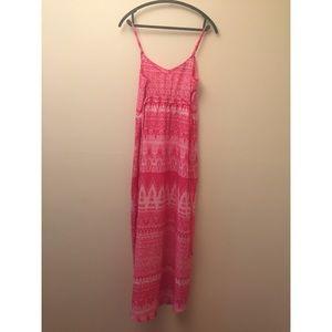 Pink Lightweight Maxi Dress